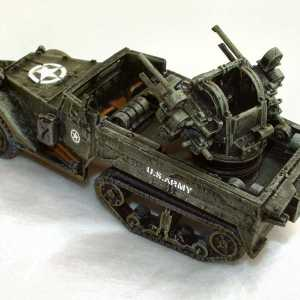 M16 Half-Track 50cal Quadmount Multiple Gun Motor Carriage
