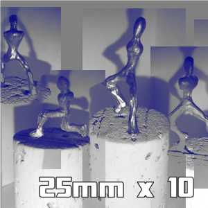 25mm Armatures Pack of 10
