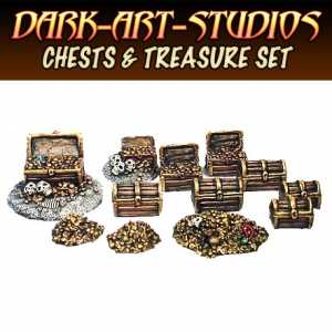 Chests & Treasure Set