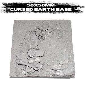 Cursed Earth base 50mm square