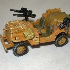 Willys Jeep SAS Desert