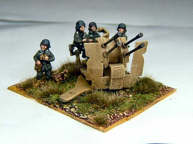 German 50 Mm Anti Tank Gun: German 2cm Flakvierling 38 Anti Aircraft And Anti Tank Gun