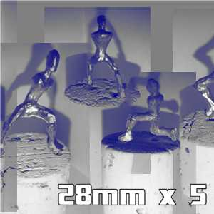 28mm Armatures Pack of 5