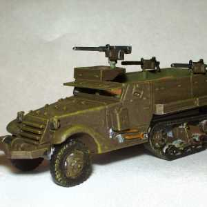 M3A1 Half-Track Personnel Carrier