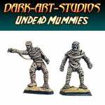 2x Undead Mummies