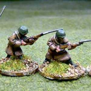 Russian Army Riflemen Skirmishing